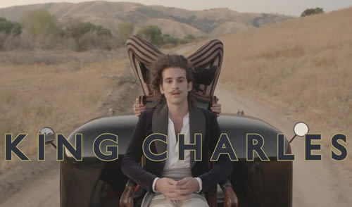 King Charles unveils new video for 'Bam Bam'